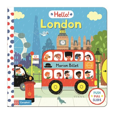 Book cover for Hello! London